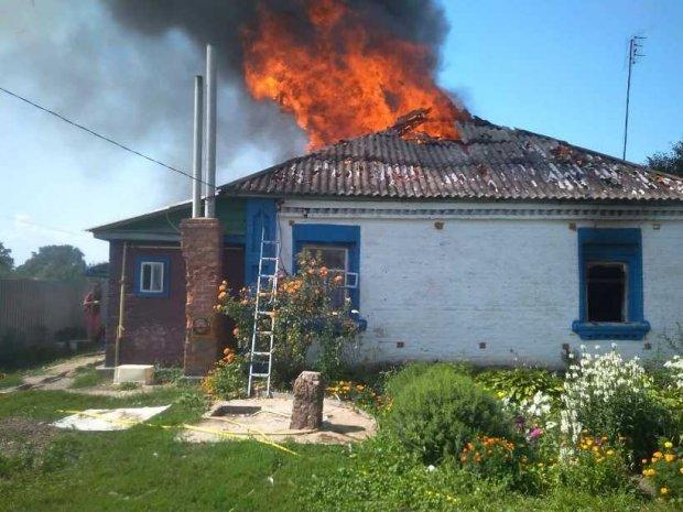 пожар в Гайшине