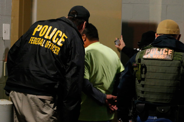 задержание мигрантов