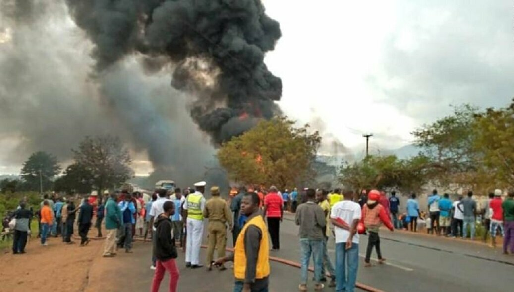 Авария в Танзании