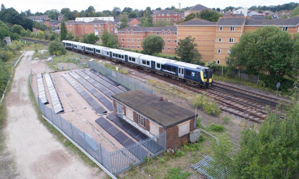 Железная дорога на солнечных батареях
