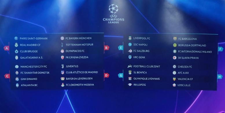 Лига чемпионов группа