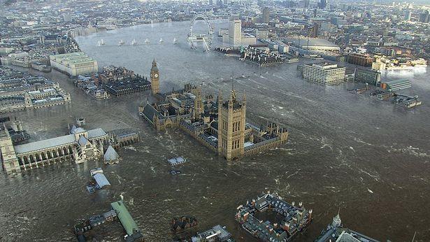 Лондон в воде