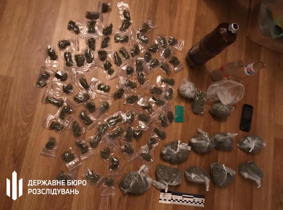 наркотики патрульный задержан
