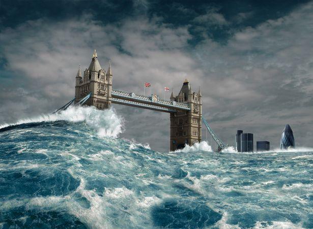 наводнение в лондоне
