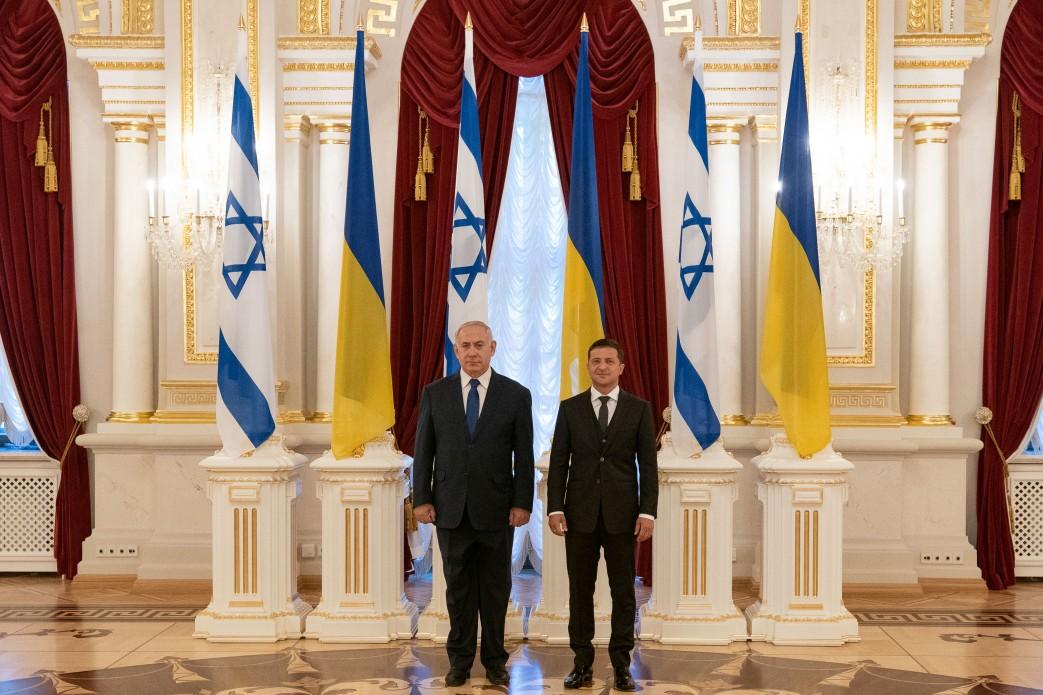 Нетаньязу в Украине