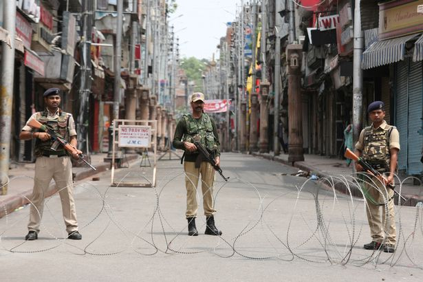 обострение в Кашмире