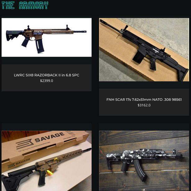 продажа оружия в даркнет
