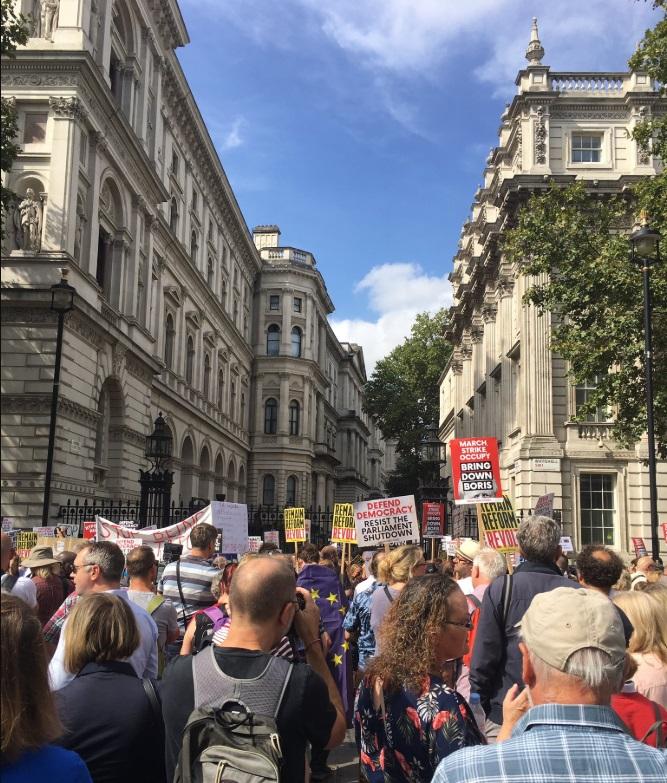 Протесты в Британии