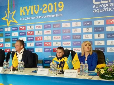 Прыжки в воду пресс-конференция