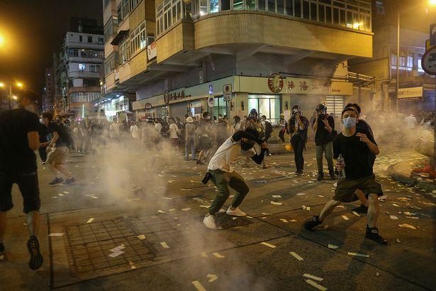 ситуация в Гонконге