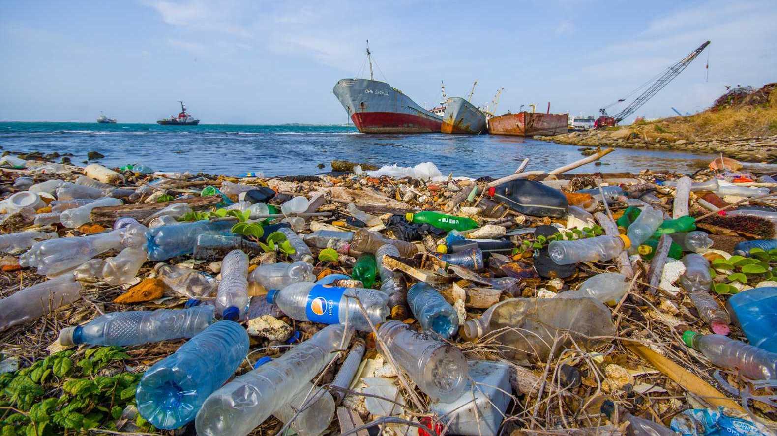 засорение пластиком