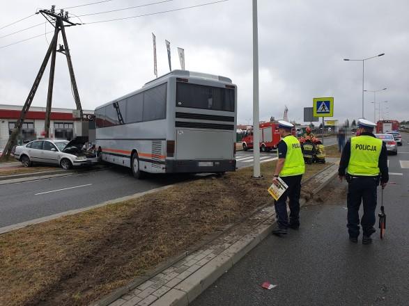 авария Польша полиция