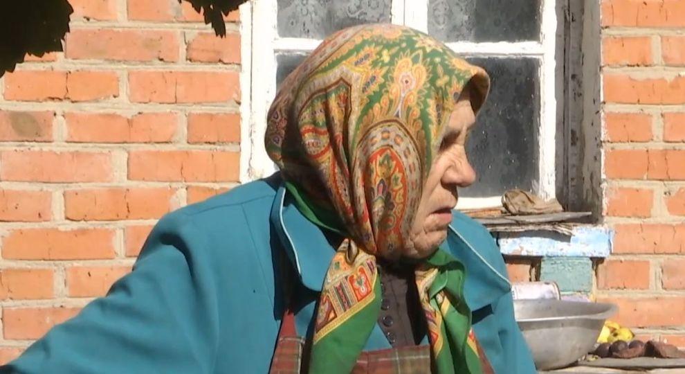 баба Зина.