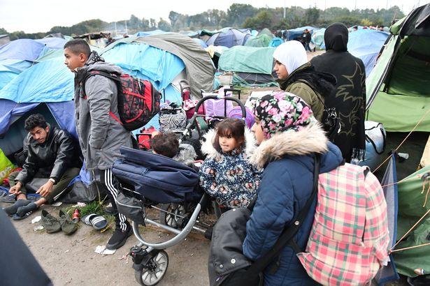 беженцы Франция