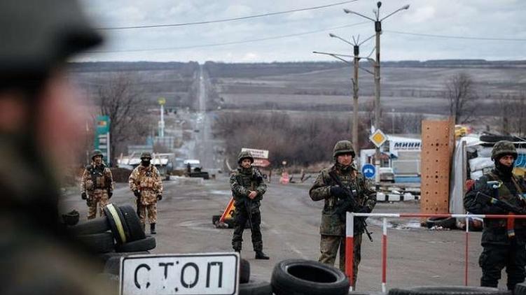 блокпост Донбасс