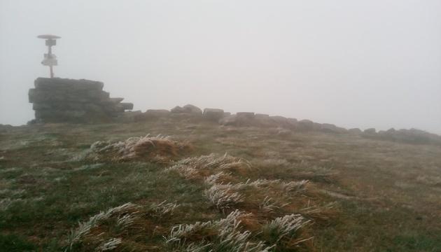 Карпаты первый снег