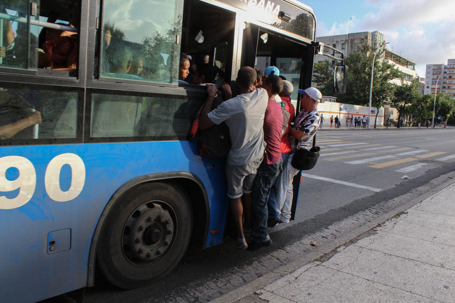 куба проблемы с транспортом