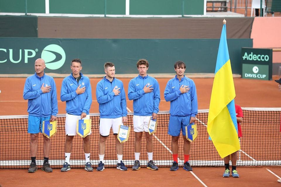 Кубок Дэвиса сборная Украины