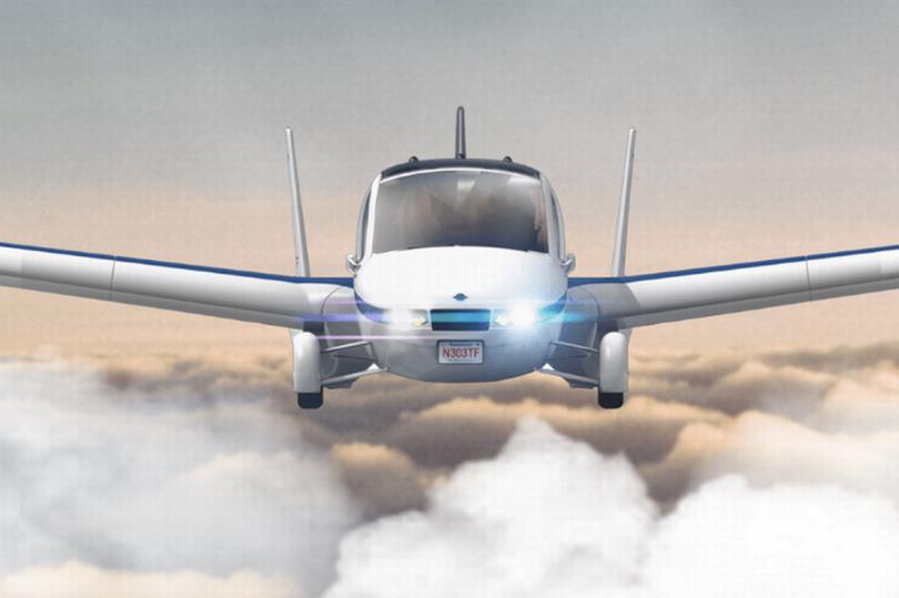 летающая машина ВВС США