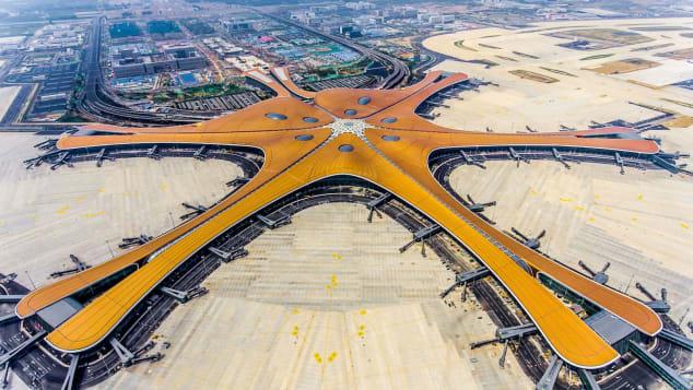 мега-аэропорт Китай