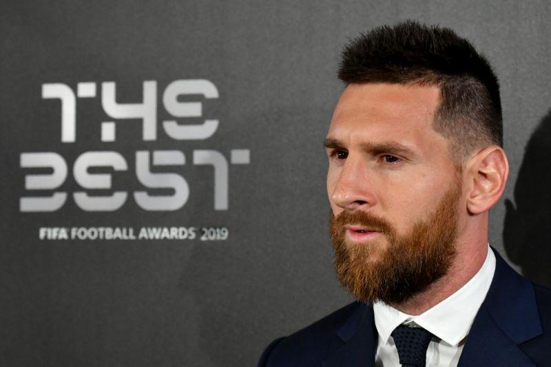 Месси игрок года ФИФА