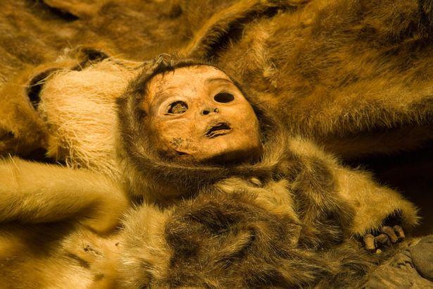мумия мальчика