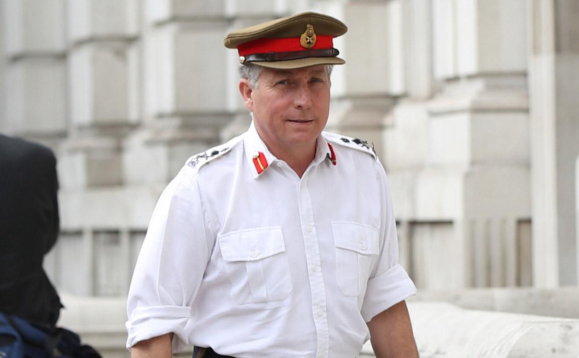 Николас Картер генерал.