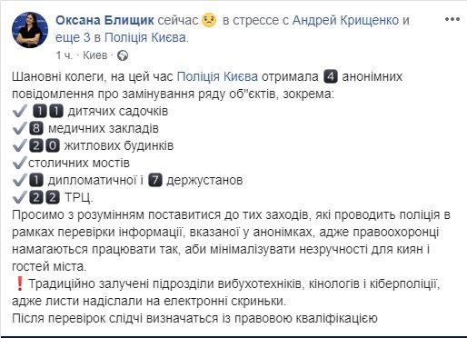 Оксана Блищик