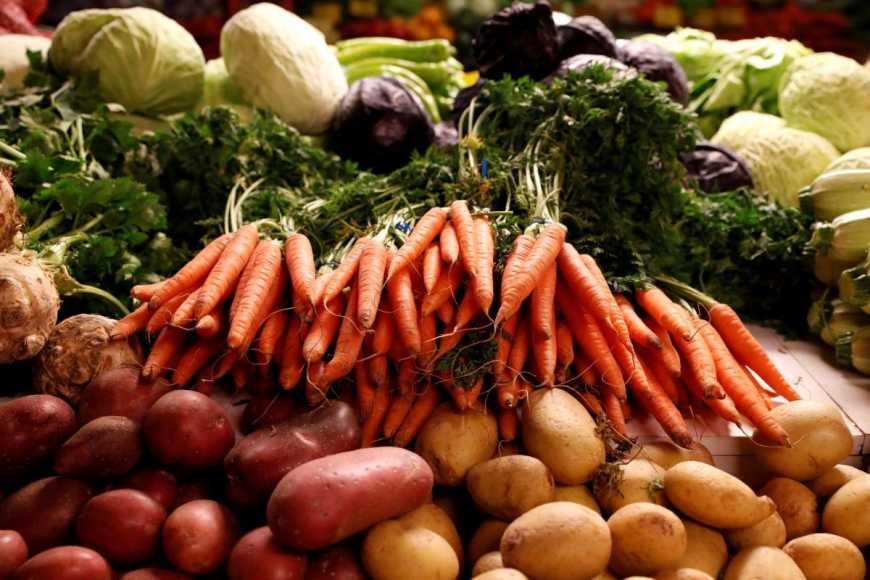 овощи морковь картофель