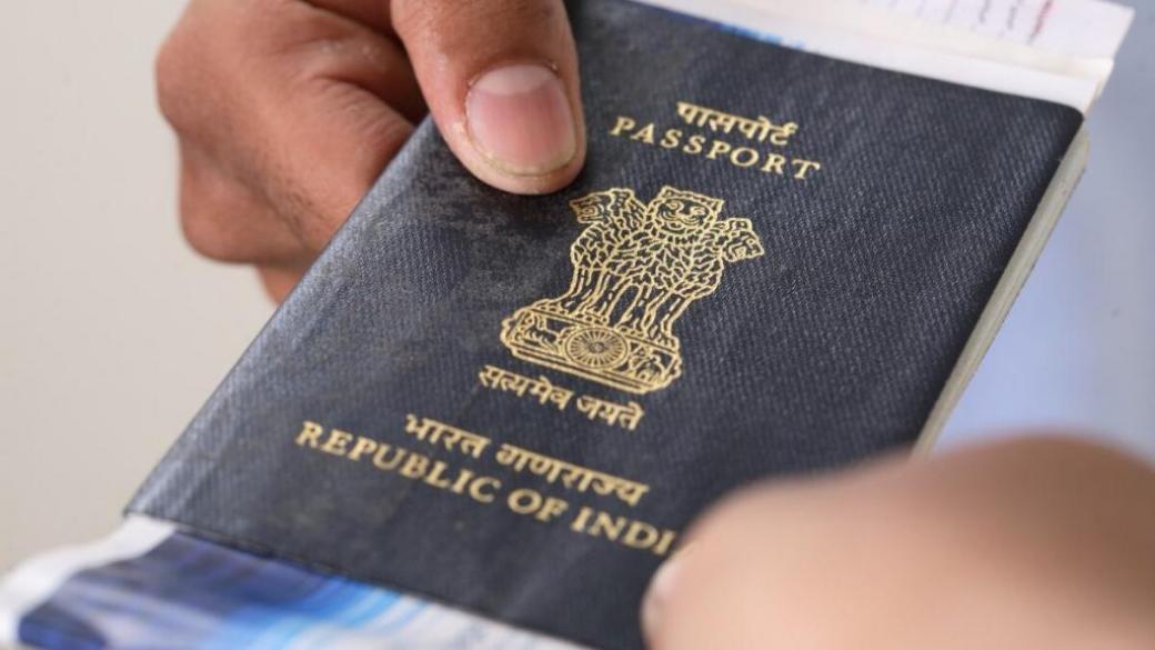 паспорт Индии