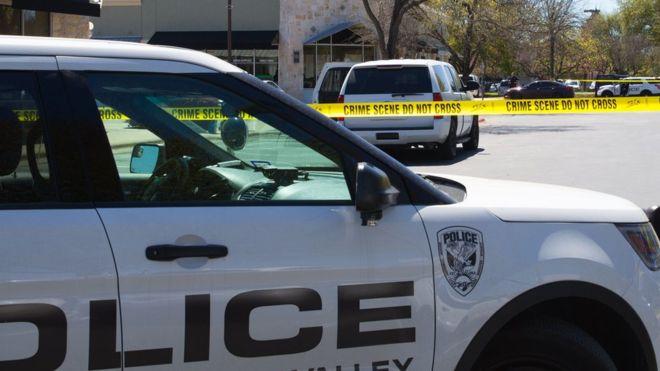полиция Техас
