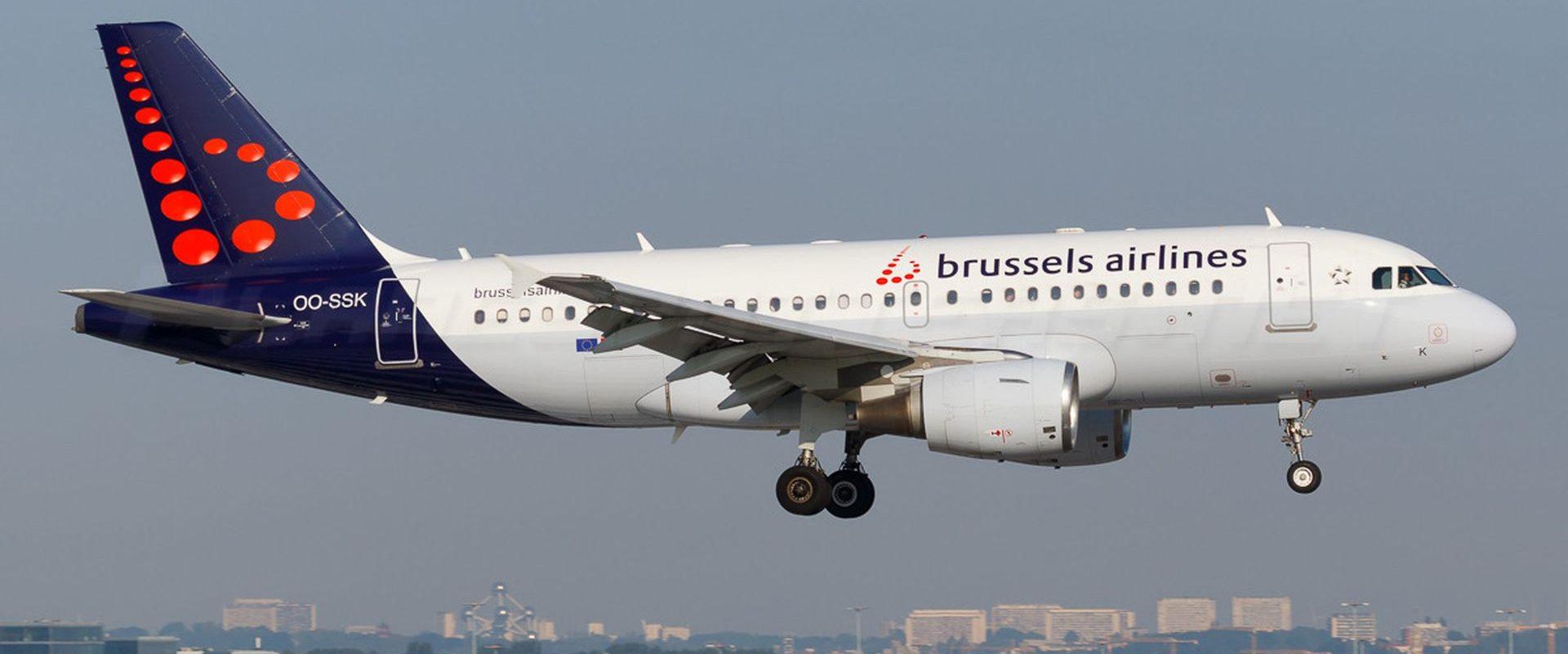 самолёт бельгийская авиакомпания
