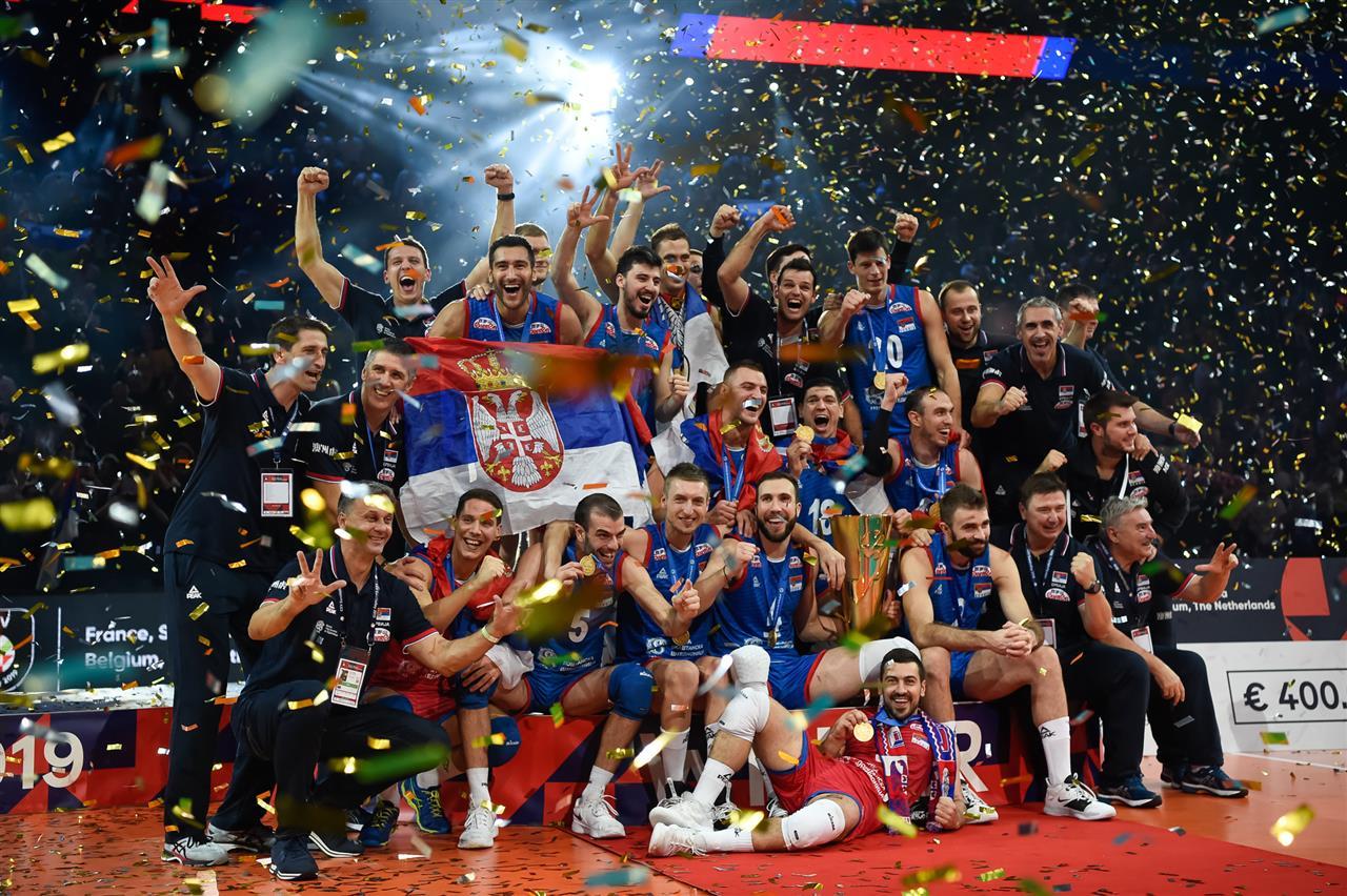 Сербия чемпионы Европы