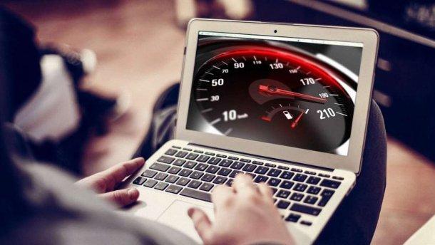 скорость интернета в Украине