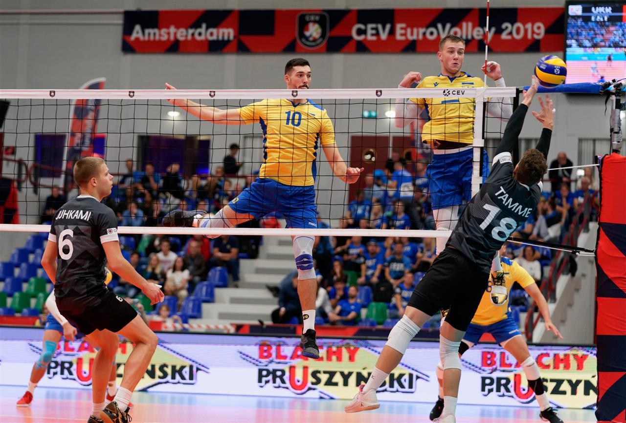 волейбол Украина Эстония