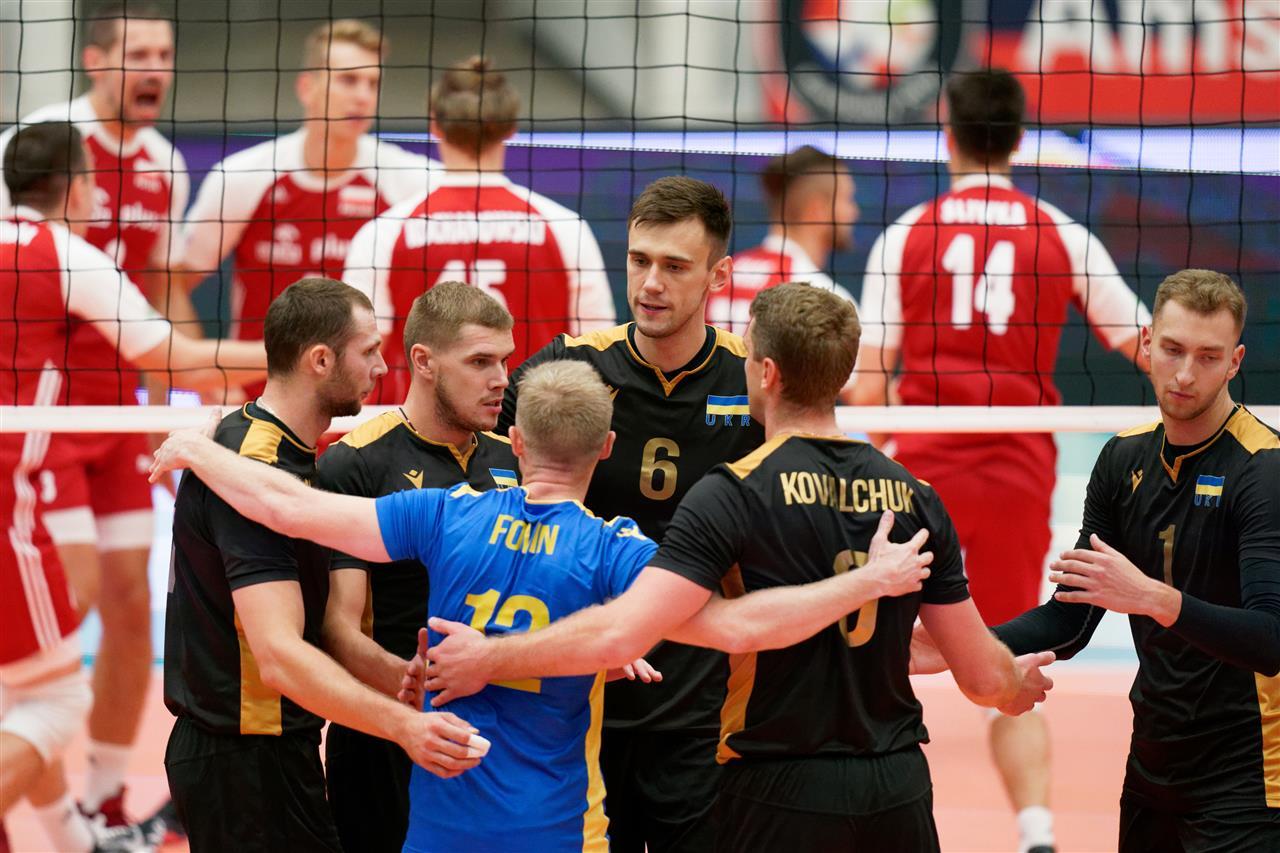 волейбол Украина Польша