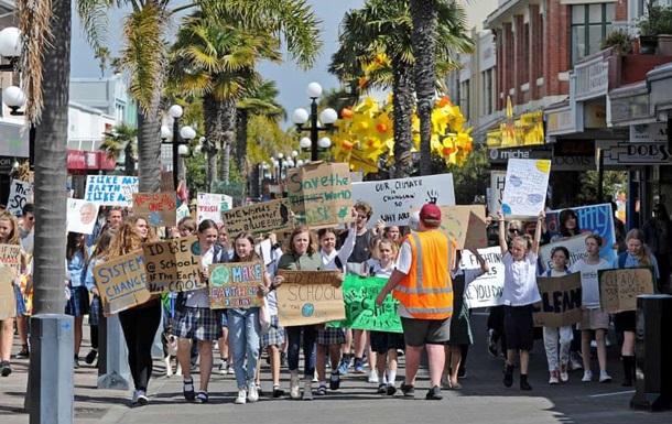 забастовка климат