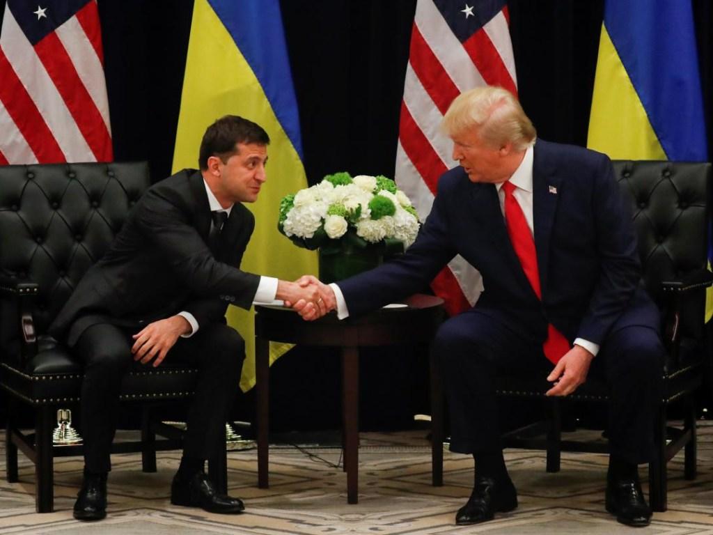 Зеленский Трамп встреча