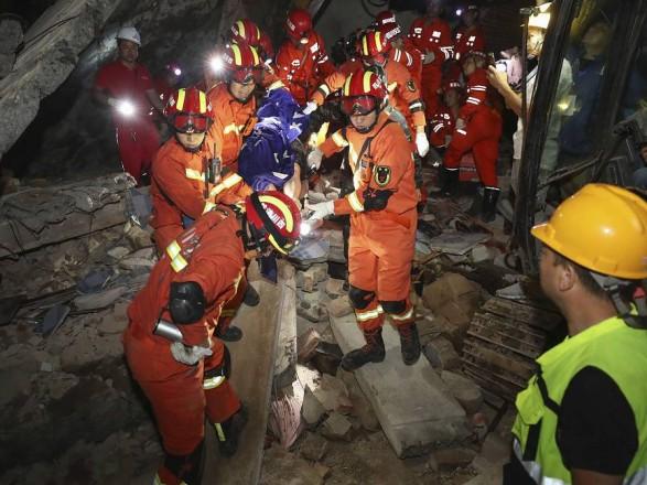 землетрясение китай