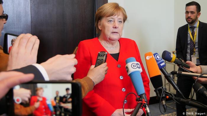 Ангела Меркель и СМИ