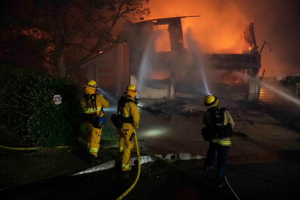 Лос-Анджелес пожар