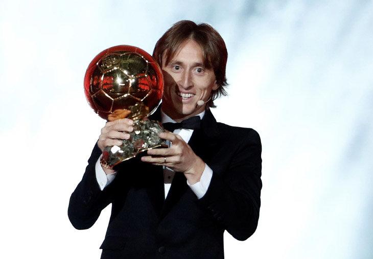 Лука Модрич Золотой мяч