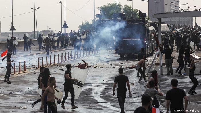 митинг в багдаде