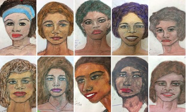 портреты жертв