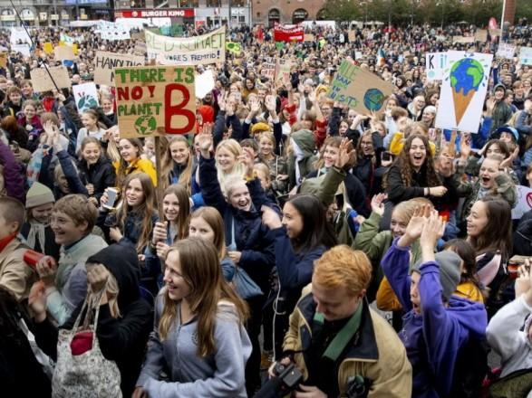 протесты климат