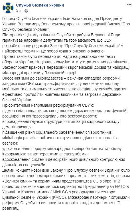 реформа СБУ