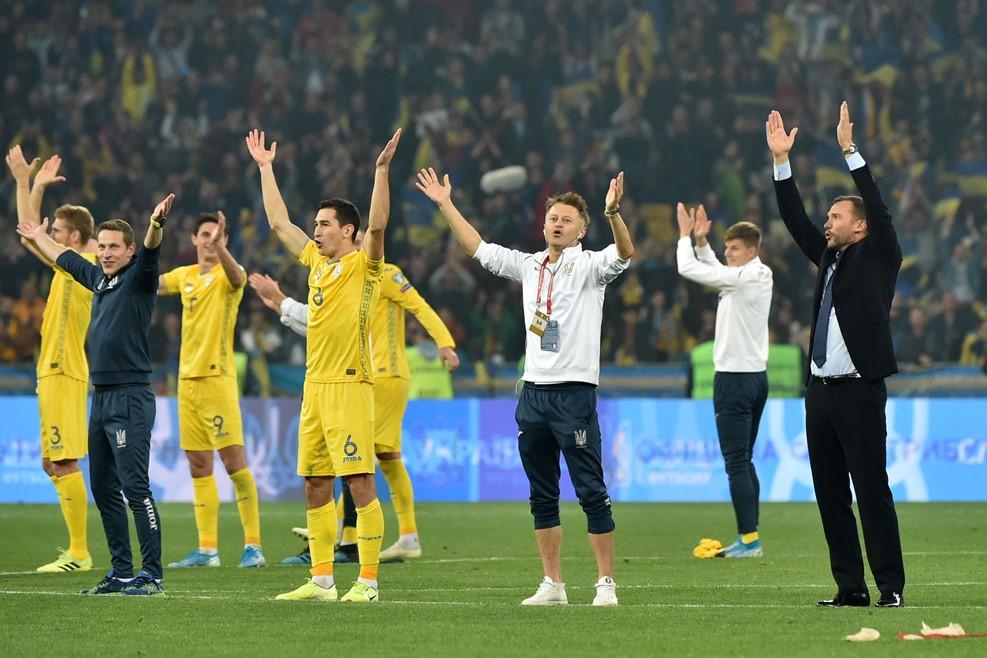 Украина овации