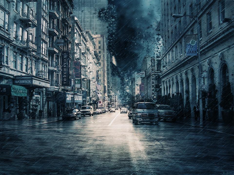 Германия готовится к удару мощного урагана «Забине»
