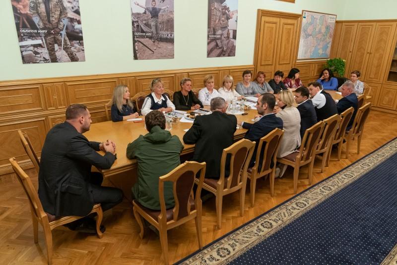 встреча президент Украины.