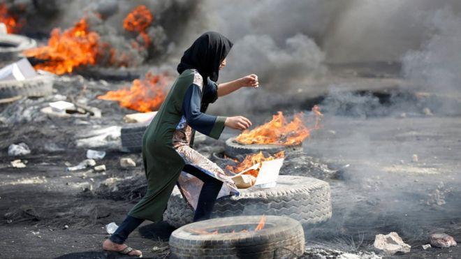 Ирак протесты